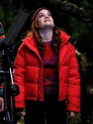Jane Levy Zoey's Extraordinary Playlist Zoey Puffer Jacket
