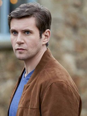 As Luck Would Have It Allen Leech Brown Jacket