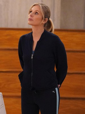Big Shot Jessalyn Gilsig Black Jacket