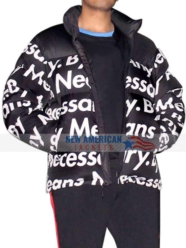 Dragon Ball Z Goku Drip Puffer Jacket New American Jackets