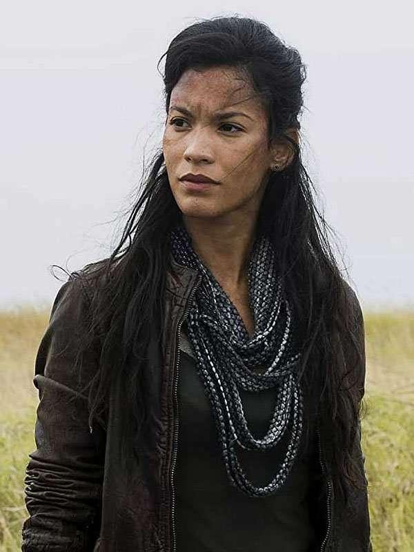 Fear the Walking Dead Luciana Galvez Brown Leather Jacket