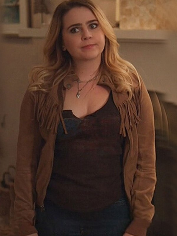 Good Girls Annie Marks Leather Jacket