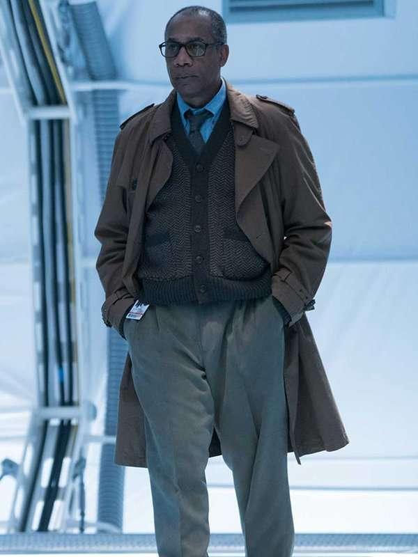 Justice League Joe Morton Long Coat