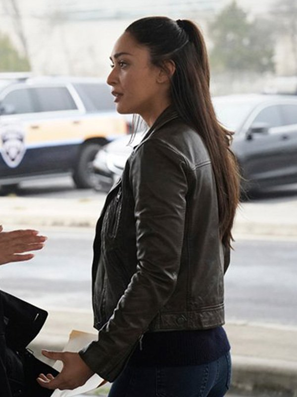 Lindsey Morgan Biker Jacket