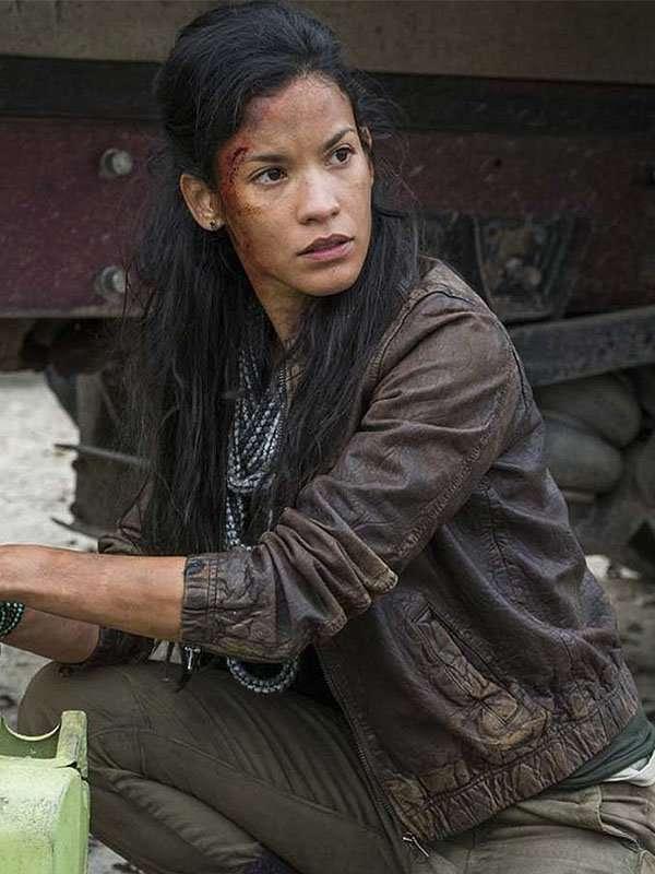 Luciana Galvez Fear the Walking Dead Leather Jacket