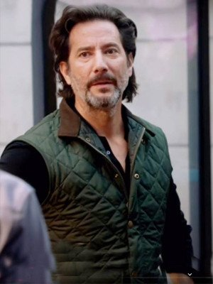 MacGyver Henry Ian Cusick Quilted Vest