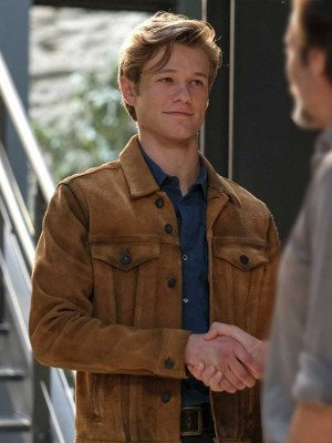 MacGyver Angus MacGyver Brown Leather Jacket