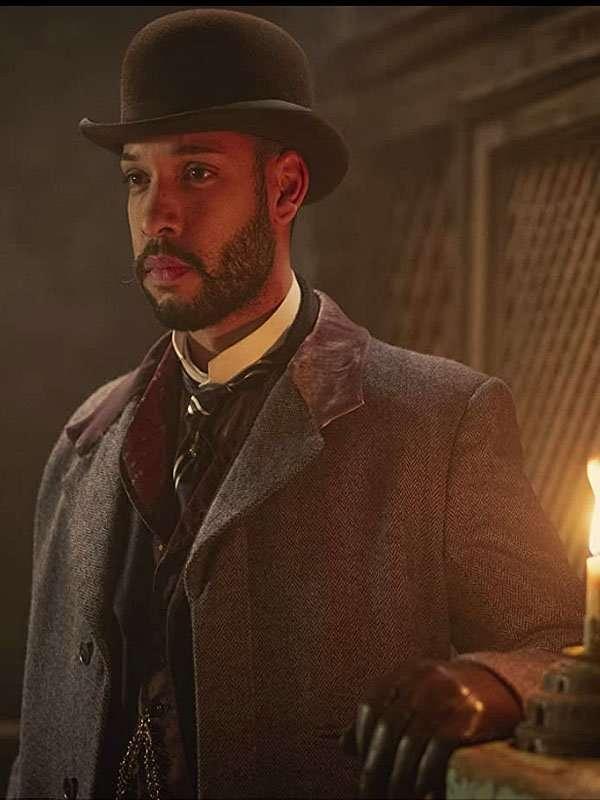 Royce Pierreson The Irregulars John Watson Coat