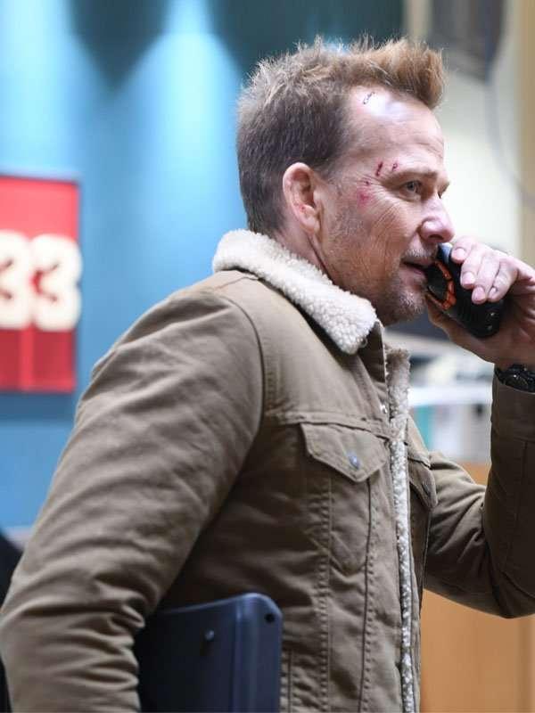 Sean Patrick Flanery Assault on Station 33 Jason Hill Jacket