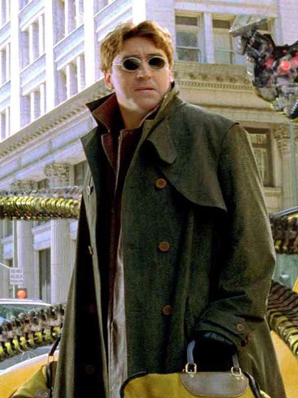 Spider-Man No Way Home Alfred Molina Trench Coat