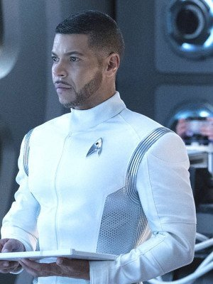 Wilson Cruz Star Trek Discovery Hugh Culber White Jacket