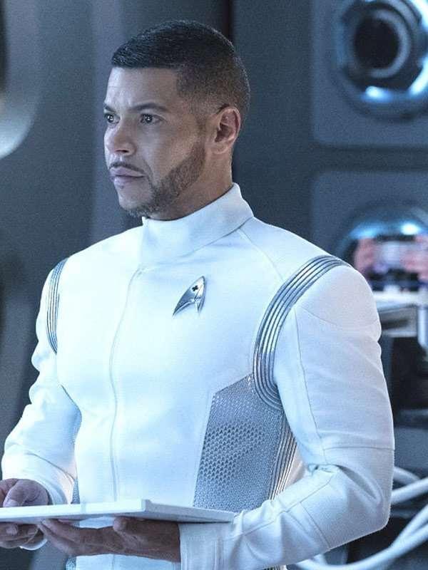 Star Trek Discovery Wilson Cruz White Jacket