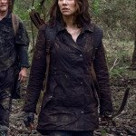 The Walking Dead Maggie Rhee Brown Jacket