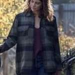 The Walking Dead Maggie Rhee Plaid Checkered Jacket