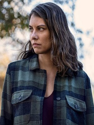The Walking Dead Maggie Rhee Plaid Checkered Jacket
