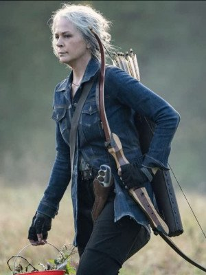 The Walking Dead Season 10 Carol Denim Jacket