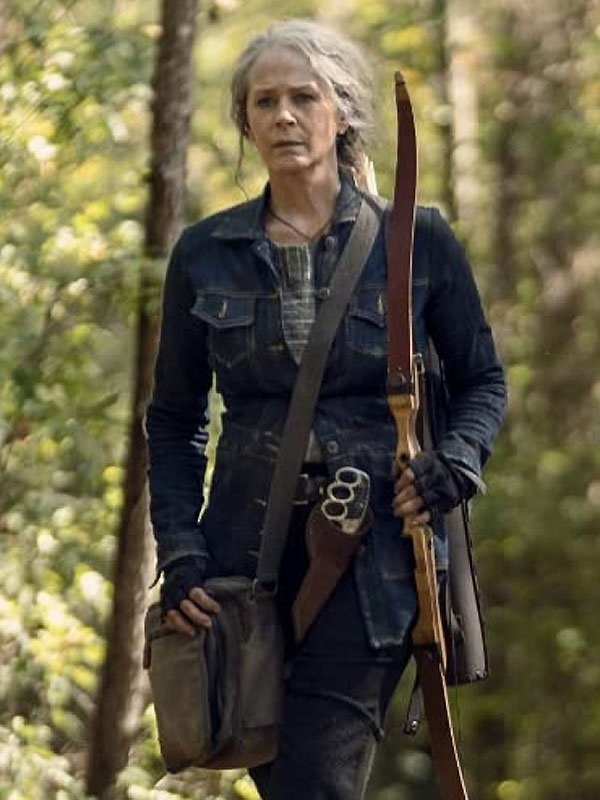The Walking Dead Season 10 Carol Denim Jacket