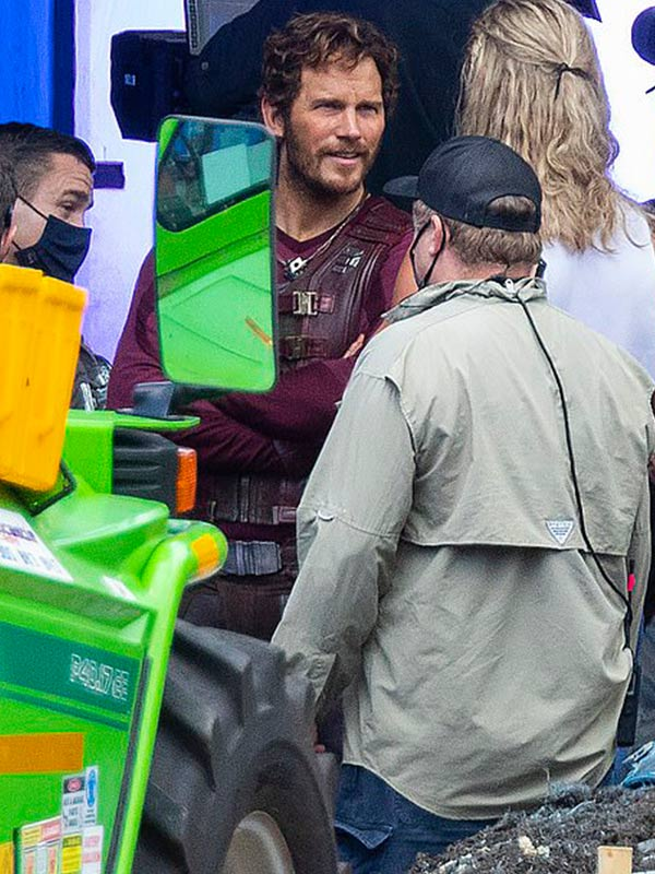 Thor Love Thunder Chris Pratt Leather Vest