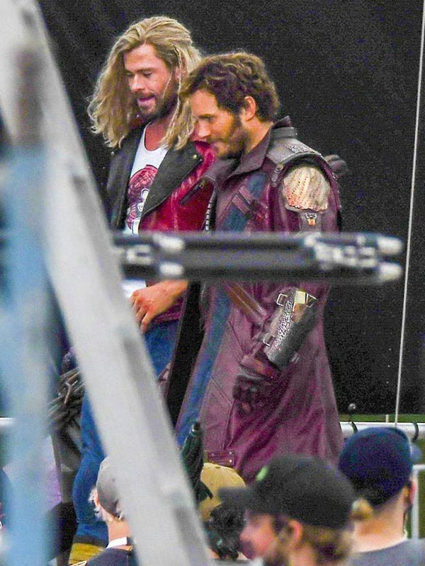 Thor Love Thunder Peter Quill Long Coat