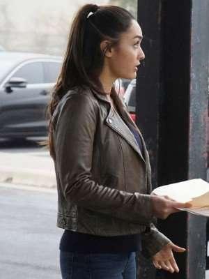 Lindsey Morgan Biker Jacket