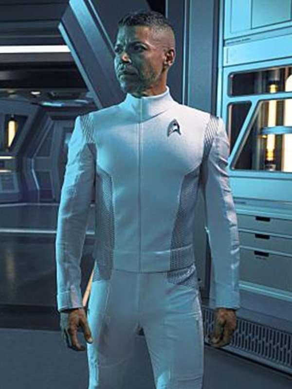 Wilson Cruz Star Trek Discovery Hugh Culber White Jacket