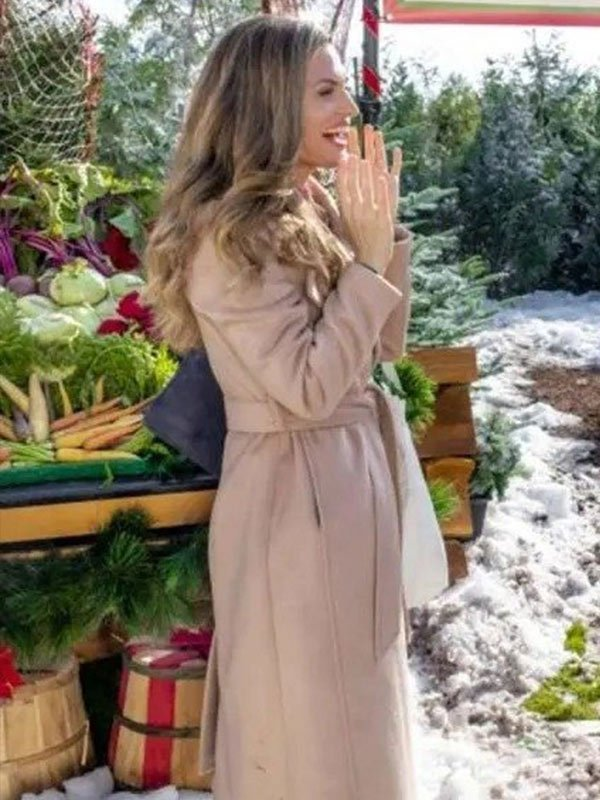 A Godwink Christmas Second Chance, First Love Brooke D'Orsay Long Coat