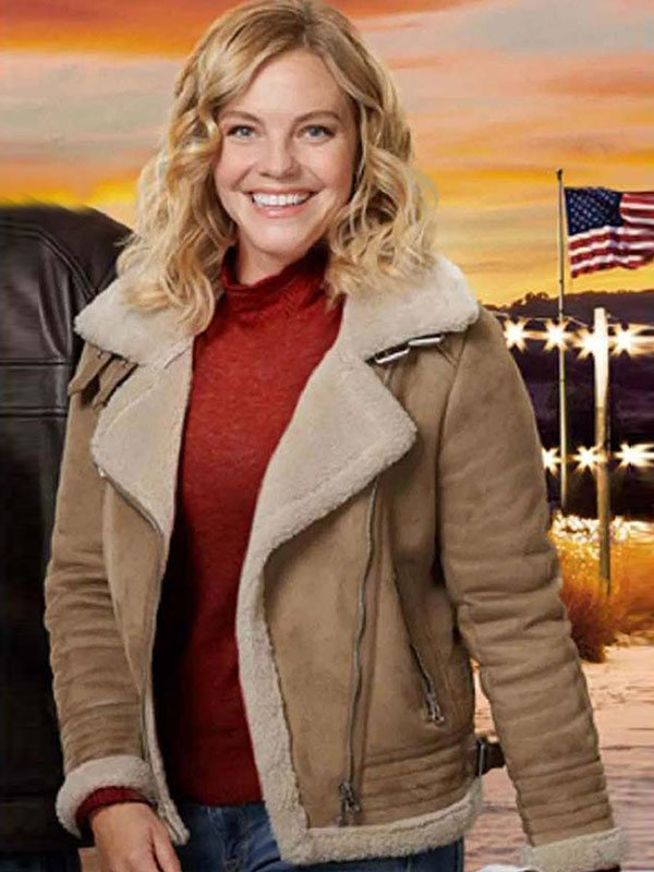 A Veterans Christmas Eloise Mumford Leather Jacket