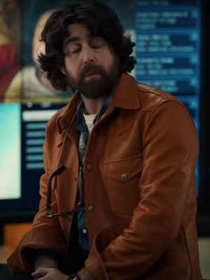 The Equalizer Harry Keshegian Brown Leather Jacket