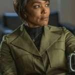 Angela Bassett 9-1-1 Green Trench Coat