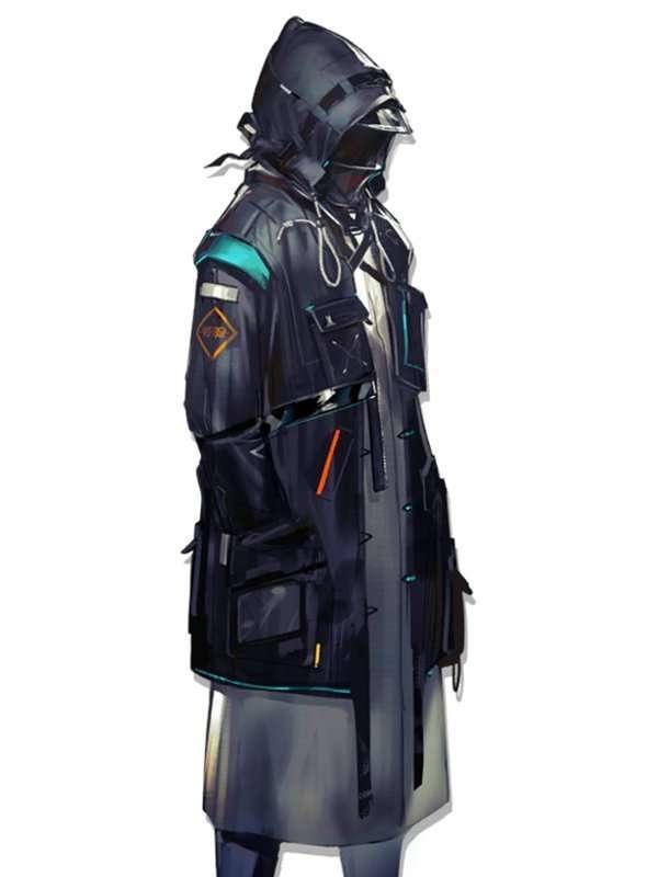 Arknights Rhodes Island Doctor Coat