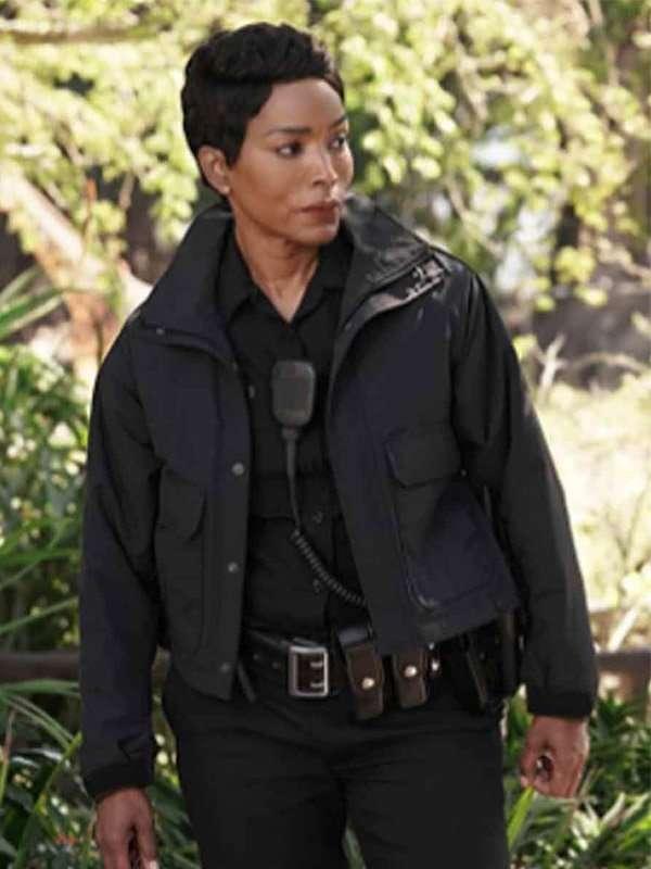 Athena Grant 9-1-1 Black Jacket