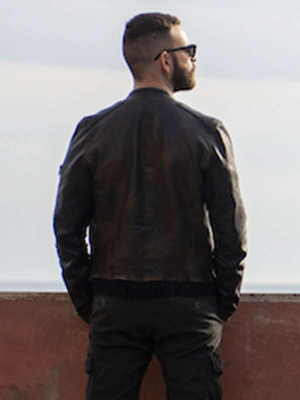 Aureliano Adami Suburra Leather Jacket