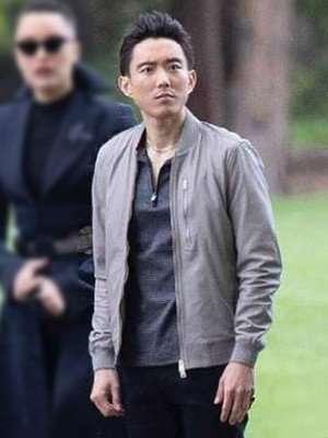 Justin H. Min The Umbrella Academy Gray Jacket