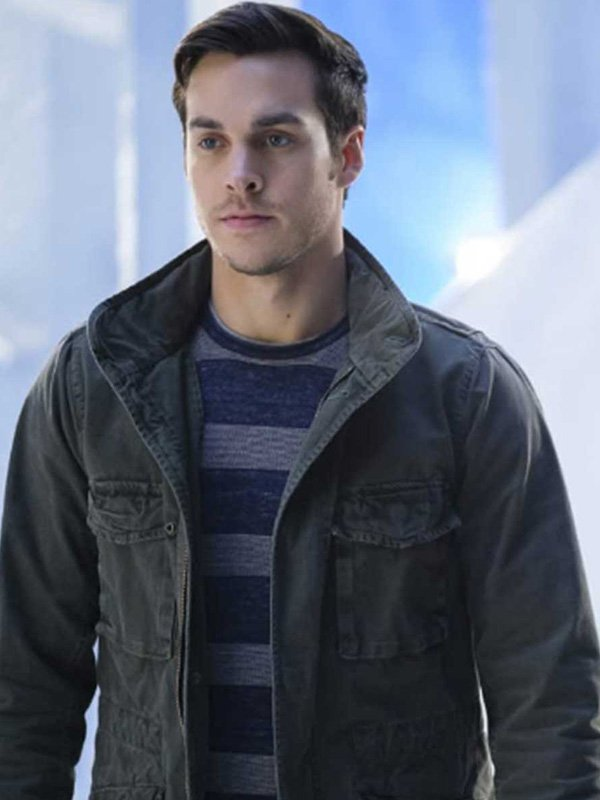 Chris Wood Supergirl Gray Jacket