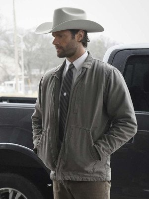 Walker Jared Padalecki Gray Jacket