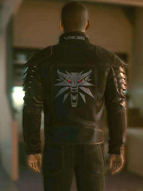 Cyberpunk 2077 Wolf School Brown Jacket