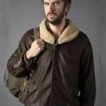 Dan Stevens Leather Jacket