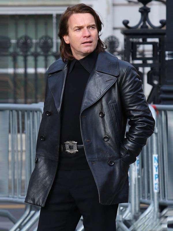 Halston Ewan McGregor Leather Jacket