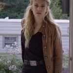 Jenny Hoyt Big Sky Brown Leather Jacket