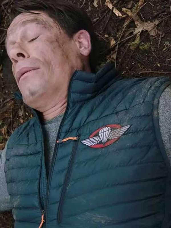 John Cena Puffer Green Vest