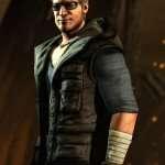 Johnny Cage Mortal Kombat X Hooded Black Vest