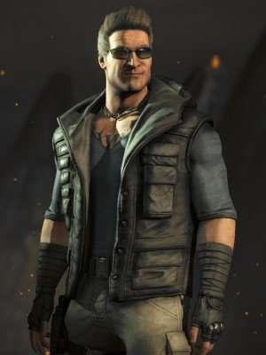 Johnny Cage Mortal Kombat X Hooded Vest