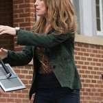 Katey Sagal Rebel Annie Green Blazer Jacket