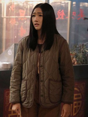 Kung Fu Nicky Shen Quilted Brown Jacket