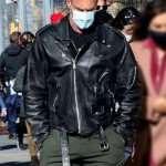 Law and Order Elliot Stabler Black Leather Jacket