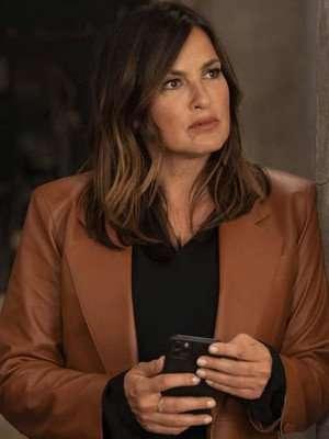 Law and Order Olivia Benson Brown Blazer