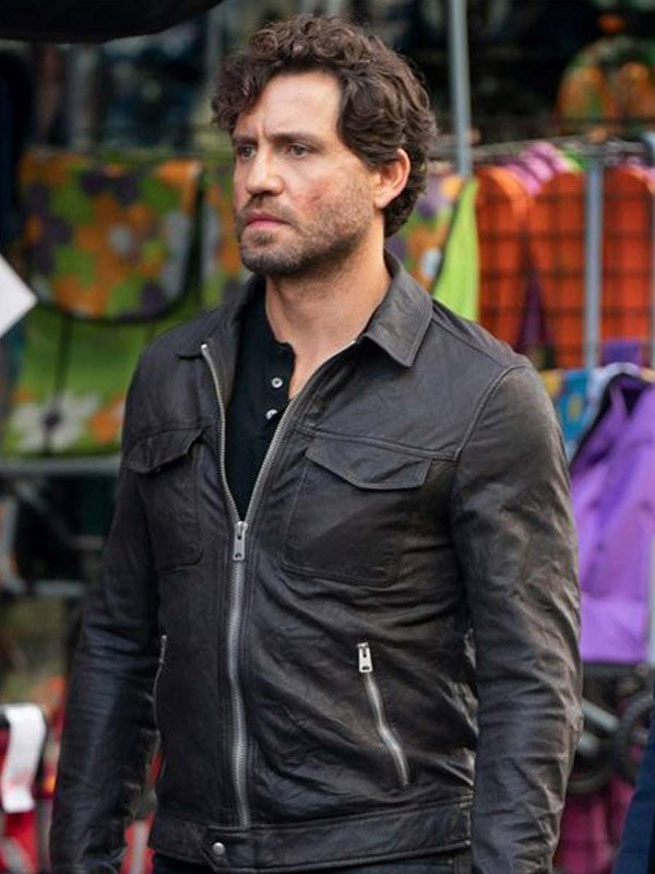 Luis The 355 Black Leather Jacket