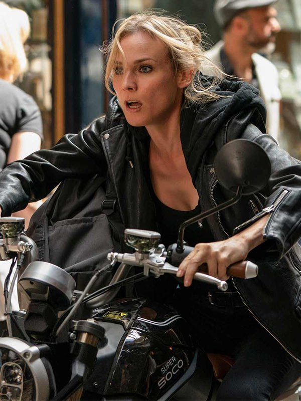 Mace The 355 Black Biker Jacket