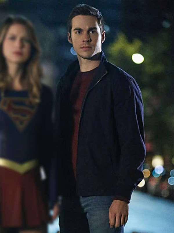 Mon-El Supergirl Bomber Jacket