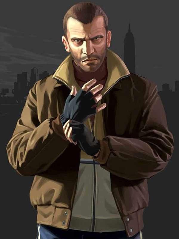 Niko Bellic GTA IV Bomber Jacket